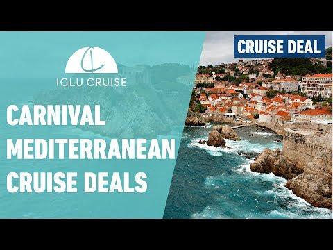 Carnival Mediterranean Cruise Deals