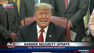 WATCH FULL: President Trump Talks Border Security And Need For The Wall