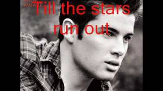 Joe McElderry - Until The Stars Run Out (Lyrics on screen)