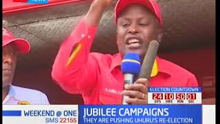 Presidential campaigns in Nyeri kick off with leaders hold joint campaigns
