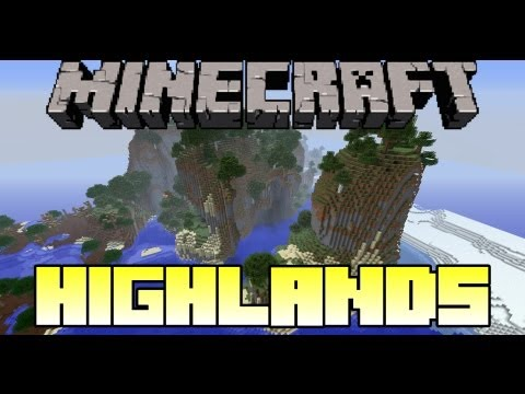 Minecraft Mod Showcase - Highlands - Mod Review