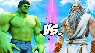 HULK vs ZEUS - Epic Battle