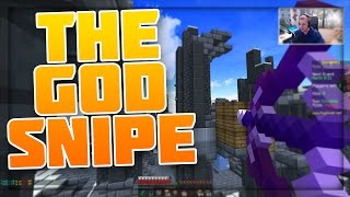 THE GOD SNIPE FOR THE WIN! Minecraft` Hypixel Skywars