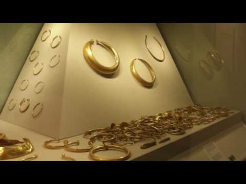 Gold Hoard (800 - 700 B.C.)  discovered at Mooghaun North Co Clare Ireland