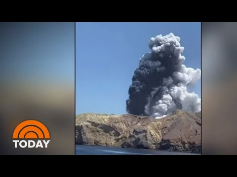 Volcano Erupts On New Zealand's White Island; At Least 5 Killed   TODAY