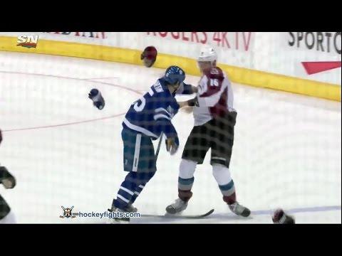 Nikita Zadorov vs Matt Martin