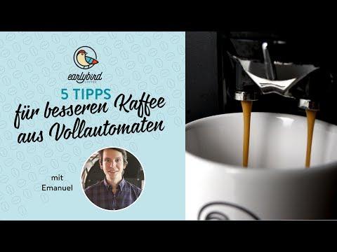 5 Tipps für besseren Kaffee aus Vollautomaten