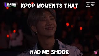 kpop moments that had me shook (My favourite kpop moments)
