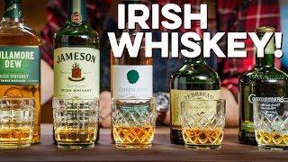 Tasting & Ranking 5 Irish Whiskeys   How To Drink