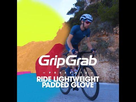 GripGrab Ride cykelhandsker navy video