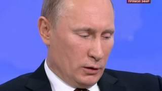 Смотреть онлайн Вопрос Путину о том, развалил бы он СССР или нет