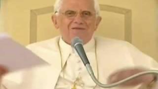 Vídeo: Audiencia del Papa al UNIV 2009