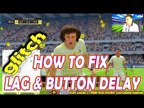 How to fix SPEED UP LAG, INPUT DELAY and LAG in FIFA 19 - Ep