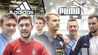 Блогеры ADIDAS vs Блогеры PUMA / играем в УЛИЧНЫЙ ФУТБОЛ!