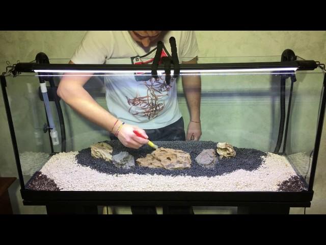 tutorial allestimento acquario aquarium