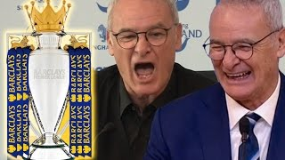 10 Funny Claudio Ranieri Press Conference Moments 201516 | #LCFCChampions