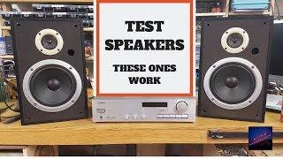 PIONEER S-Z73 BENCH TEST SPEAKERS #pioneer #vintageaudio #stereoreceiver