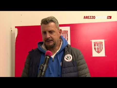 Matelica-Arezzo 2-2, intervista a mister Camplone