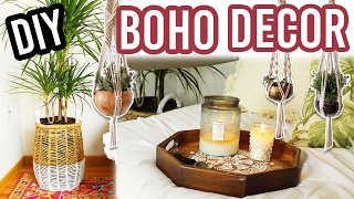 DIY BOHEMIAN ROOM DECOR!