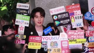 170511 이동옥 (李東旭 LEEDONGWOOK) 香港VALENTINO旗艦店開幕禮 인터뷰 직캠