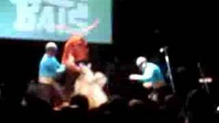 The Aquabats fight Lobster Man