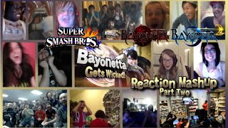 Bayonetta Gets Wicked! PART TWO (Super Smash Bros. Wii U and 3DS) Reaction Mashup!