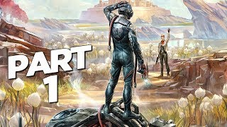 THE OUTER WORLDS Walkthrough Gameplay Part 1 - INTRO (FULL GAME)