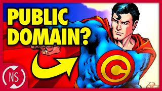 Why Isn't SUPERMAN a PUBLIC DOMAIN Superhero?? || Comic Misconceptions || NerdSync