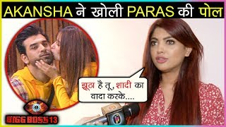 Akansha Puri BREAKS Up With Paras Chhabra For His SHOCKING Statement In Bigg Boss 13