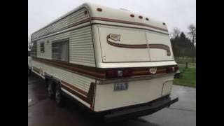 1981 Holiday Rambler Ramblette Travel Trailer MINT