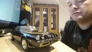 MY DIECAST (MOVIE/TV) - SMOKEY AND THE BANDIT TRANS AM 1:18