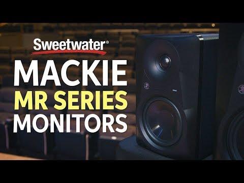 Mackie MR Series Studio Monitors Overview
