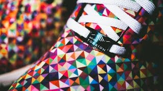 "Adidas Zx Flux ""Multicolor Prism"" on feet!"