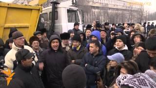"""""""Шал кет!"""" как полиция разогнала митинг в Алматы"""