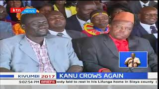KANU crows again after a renewed energy clinching several seats in the general elections