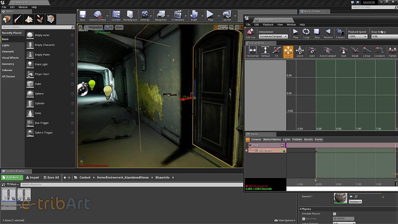 Tuto du Jeudi : Unreal Engine Blueprint