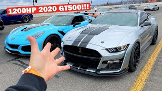 World's FASTEST 2020 GT500 Calls out my 1,000HP ZR1!!!