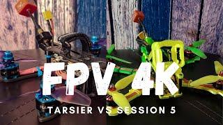 FPV 4K video comparison from caddx tarsier and gopro session 5. #tarsier #gopro #fpv