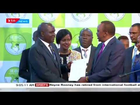 IEBC chairman and Uhuru Kenyatta's deadline on filing their responses to NASA's petition