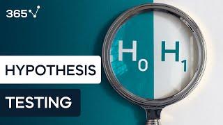 Hypothesis testing. Null vs alternative
