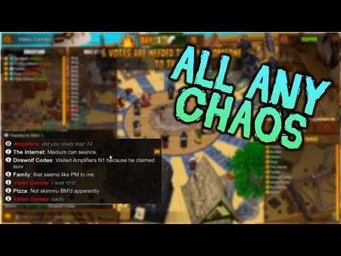 ALL ANY ALL CHAOS   Town of Salem Coven