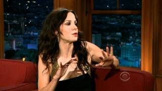 Mary-Louise Parker on Craig Ferguson's Late Late Show June 29, 2011