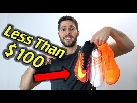 Top 10 Soccer Cleats and Indoors Under $100!