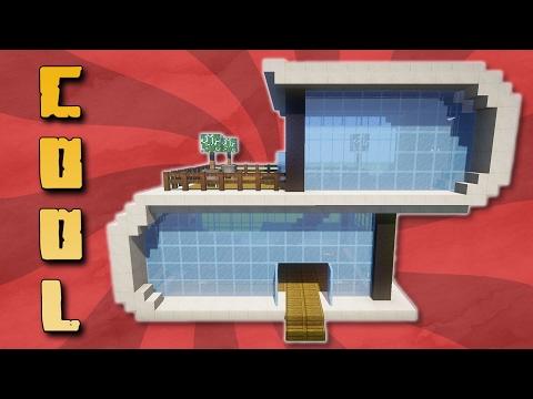 Cooles Modernes Haus Bauen In Minecraft Bauen MIT DOWNLOAD - Minecraft cooles haus bauen anleitung