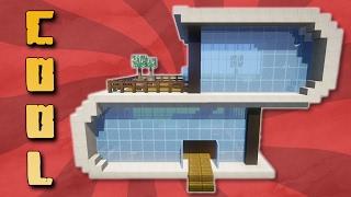 Minecraft Modernes Haus Bauen X Skovlyset - Minecraft haus bauen tutorial deutsch mittelalter