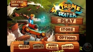 Extreme Skater - iPhone Gameplay Video
