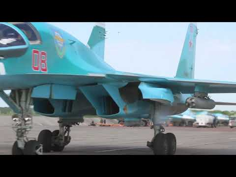 In Kamchatka S-400 under the guise of smoke machines/ Relocation of the Su 34 bomber/CBRN defense
