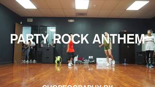 PARTY ROCK ANTHEM by LMFAO ft Lauren Bennett  GoonRock | Aidan Prince | Choreo: Coco Natsuko