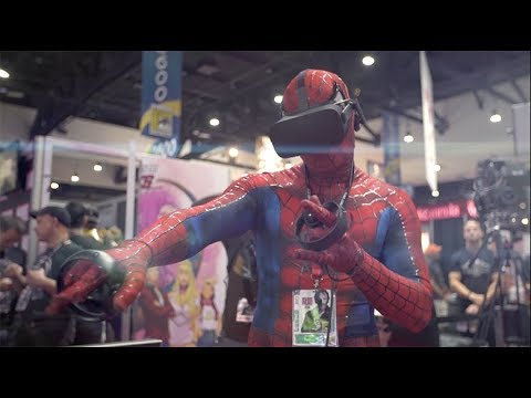 MARVEL Powers United VR: San Diego Comic-Con Reaction Video