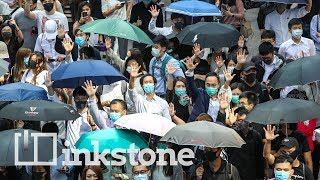Most of Hong Kong's protests have taken place on weekends, but now protesters are gathering on weekdays to pressure the government to address their demands.   In Central, the financial district that is home to banks and luxury stores, office workers have been showing up during lunchtime since Monday to voice their anger toward the government and police.   On Wednesday, hundreds of people joined the protest, before riot police were deployed to disperse the crowd.   In the video above, we spoke to some lunchtime protesters about their roles in the movement and the escalating violence in Hong Kong.   For more on the latest in China: https://www.inkstonenews.com/ Like Inkstone on Facebook: https://www.facebook.com/inkstonenews/ Follow Inkstone on Twitter: https://twitter.com/inkstonenews Follow us on Instagram: https://www.instagram.com/inkstonenews